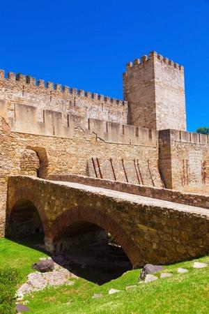jorge: Castelo de San Jorge  Saint George  in Lisboa, Portugal