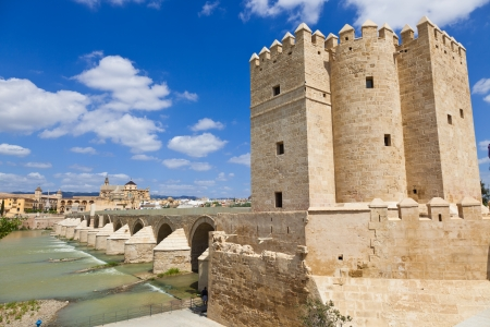 The Calahorra Tower in Cordoba, Spain  The south of the Roman Bridge stands this external tower photo