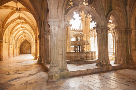 vitoria: Lavatory in the Royal cloister (King Joao I cloister) of Santa Maria da Vitoria monastery, Batalha, Estremadura, Portugal