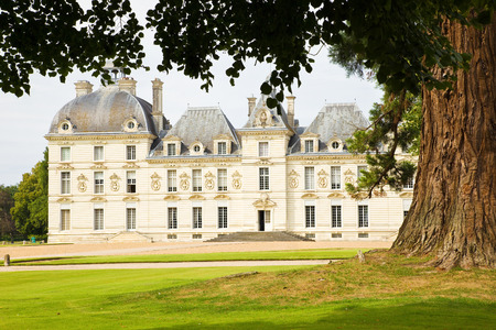 french culture: Cheverny Chateau, France Editorial