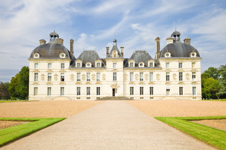 european culture: Cheverny Chateau, France Editorial