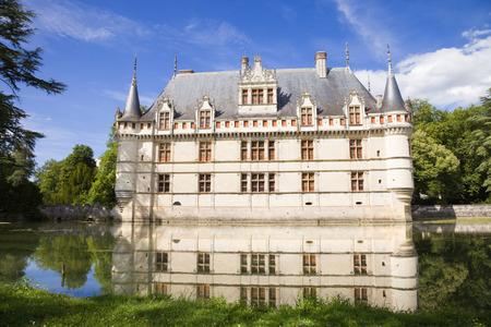 chateau: Azay-le-Rideau Chateau, France