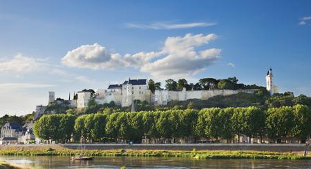 chinon: Chinon chateau, France