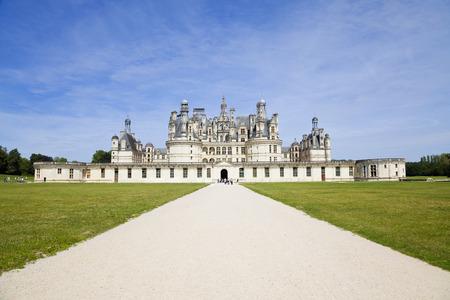 chambord: Chambord Chateau, France Editorial