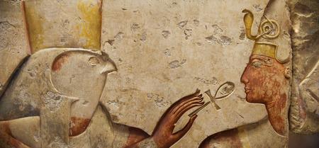horus: Alivio Egipcio: Horus y fara�n
