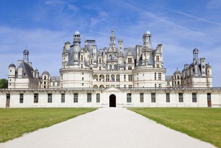 chateau: Chambord Chateau, France Editorial