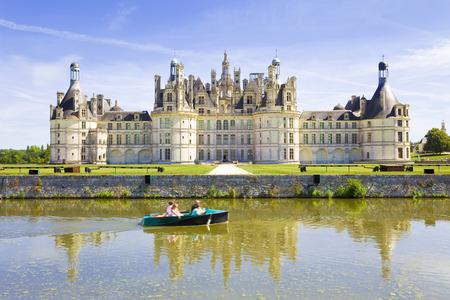 chateau: Chambord Chateau panoramic, France
