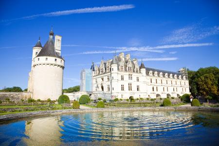 chateau: Chenonceau Chateau, France Editorial