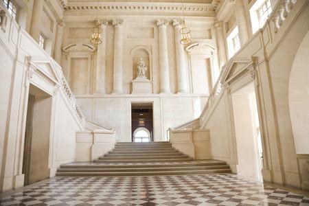Grande salle et staricase de Versailles Château. France Banque d'images - 38299457