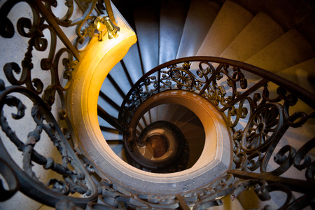 chateau: Staircase in Versailles Chateau.