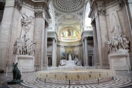 pendulum: Spinning Foucaults Pendulum in the Pantheon of Paris
