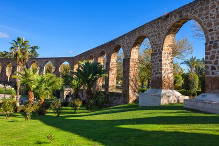 aquifer: Aqueduct of San Anton in Plasencia, province of Caceres, Spain