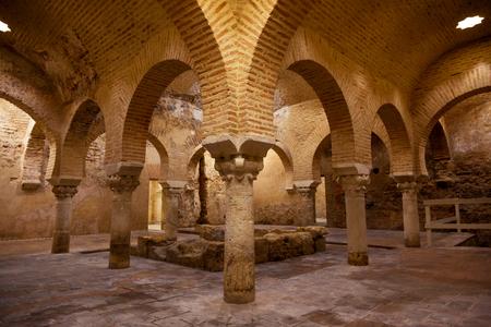 hamam: Arabic baths in historic city of Jaen, Spain