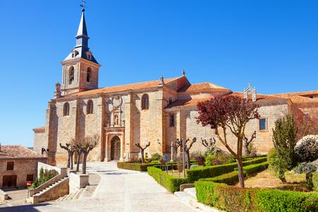 san pedro: Collegiate church of San Pedro in Lerma town. Province of Burgos, Spain