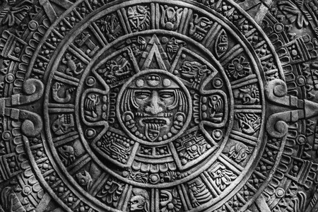 Ancient Mayan calendar Stock Photo - 70935878