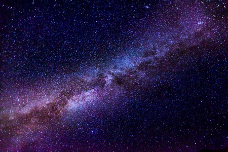 The Milky Way. Image taken in Morocco at summer Stock fotó