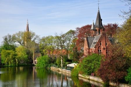 View of Brugge, Belgium Stock Photo - 16742296