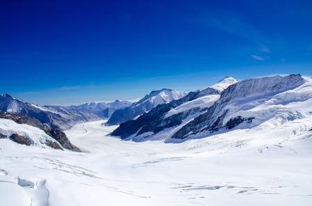 aletsch: Aletsch Glacier, Jungfraujoch, Switzerland
