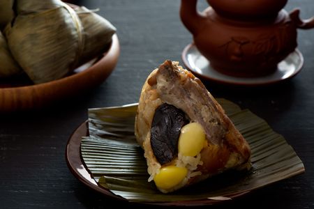 Chinese Sticky Rice Dumpling, Zongzi, Chinese Food,