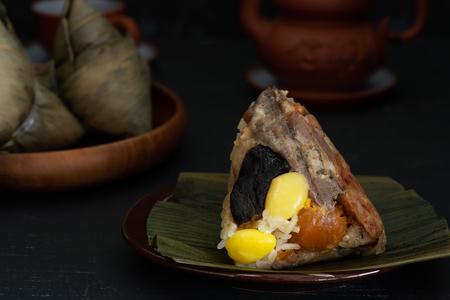 Chinese Sticky Rice Dumpling, Zongzi, Chinese Food, Ba Jang