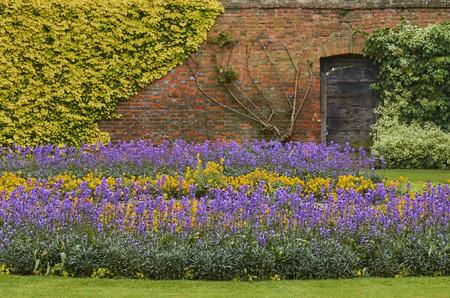 Beatiful Garden Of Christ Church War Memorial In Spring Season, Oxford, England