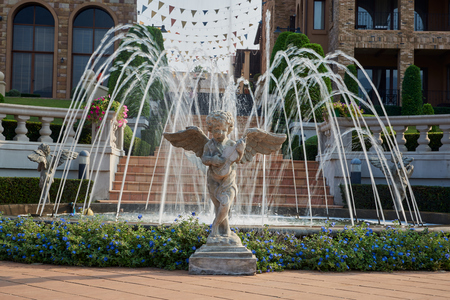 Fountain Italian Style Town, The Toscana Valley ,Khaoyai