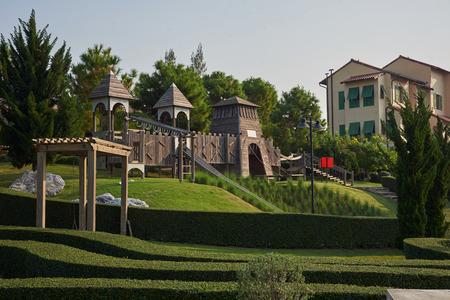 The Playground Of The Toscana Valley ,Khaoyai Stock Photo