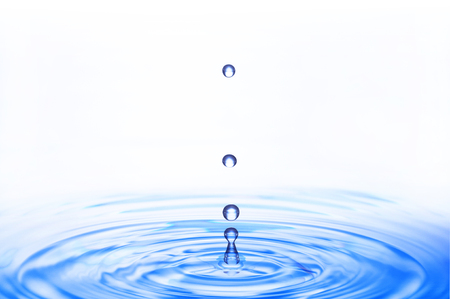 ripples and water droplets Stock Photo - 58468265
