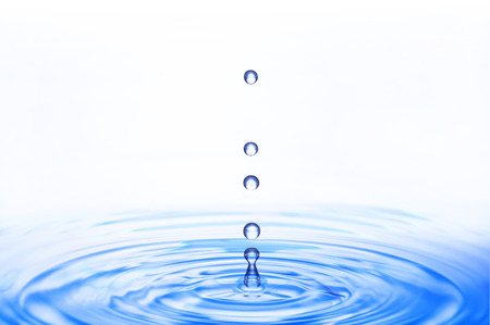 ripples and water droplets 免版税图像