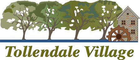 Tollendale Village Logo Ilustração