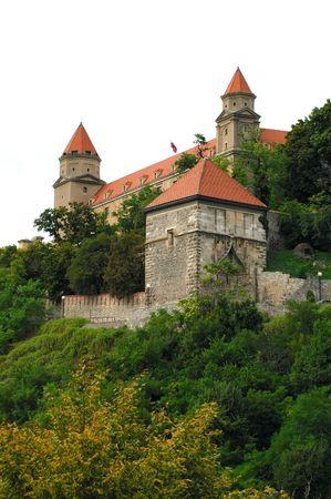 bratislava: Castle in Bratislava Stock Photo