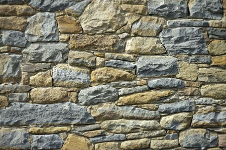 stony: stony wall Stock Photo