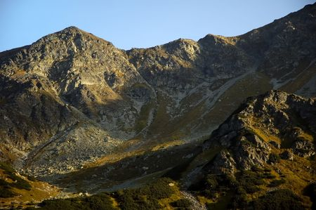 tatry: Low Tatras Mountains picturesque scenery