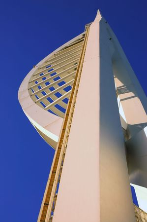 portsmouth: Millennium Spinnaker Tower in Portsmouth, South England Stock Photo