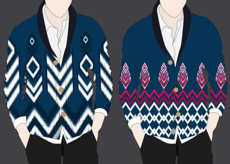 Motif géométrique ethnique. conception pour le fond et le papier peint, motif de vêtements, et l'emballage.