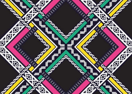 wrapping: Ethnic pattern design for background,wallpaper,clothing and wrapping. Illustration
