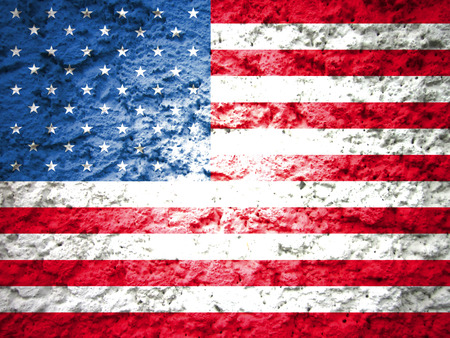 presidents' day: usa american flag abstract grunge background Stock Photo