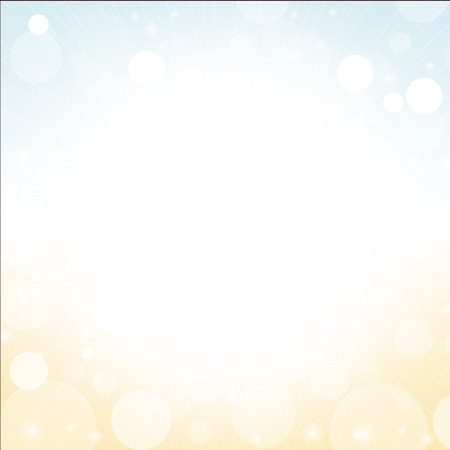 sunshine background: abstract background vector of summer sky sun beach with lens flare