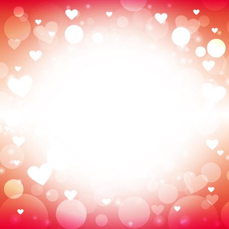 love letter: forma del corazón del vector resumen de antecedentes de color rojo - Ideas de diseño para el día de San Valentín, tarjetas de amor, carta de amor, nota del amor y de la boda