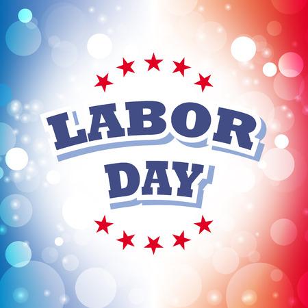 labor day banner vector design Illustration