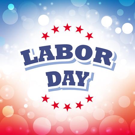 labor: labor day card vector Illustration
