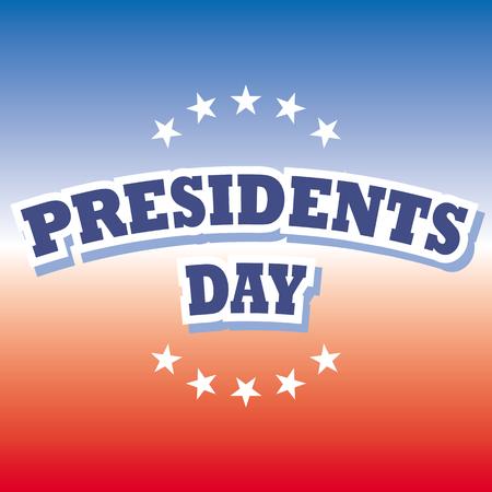 presidents: america presidents day banner vector