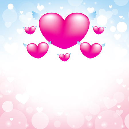 wedding love: Love heart pink background, design for Valentines Day, Mothers Day, Birthday, Wedding and love card 1