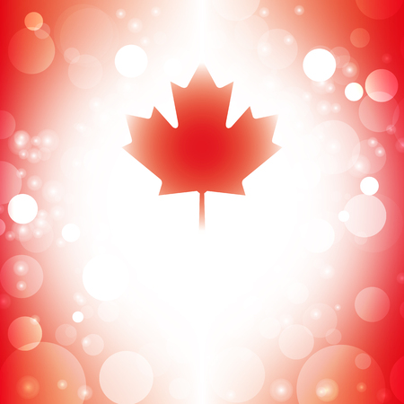 Canada background abstract canadian flag