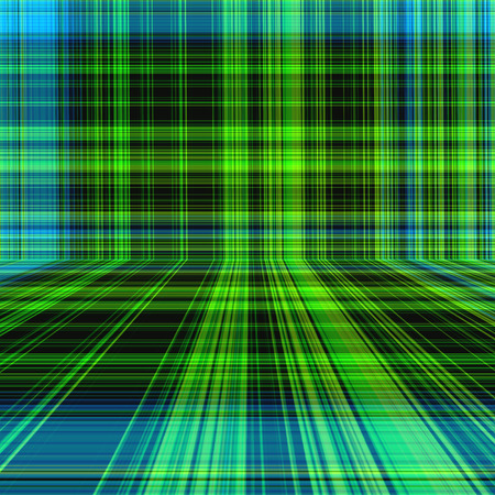 english countryside: Perspective blue green tone color plaid or tartan pattern abstract background
