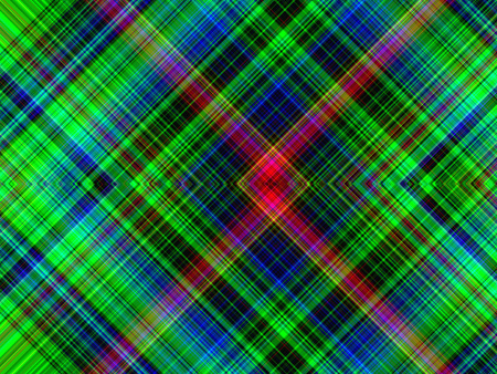 green tone: Green tone of colored plaid  tatan abstract background