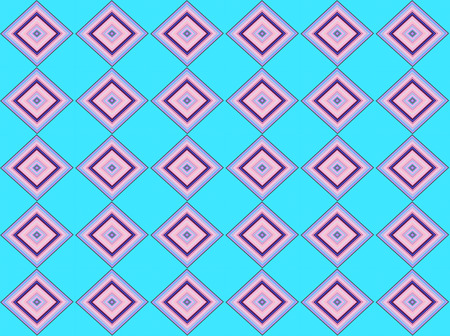 tone on tone: Blue tone colored square seamless pattern background