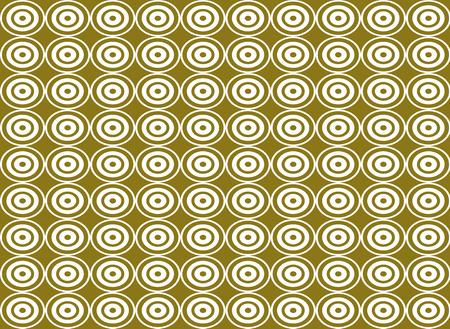 circle shape: Abstract white circle shape seamless pattern background