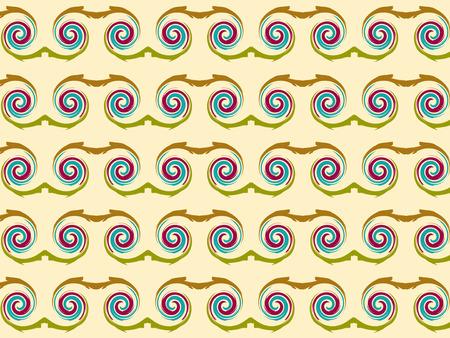 swirl: Abstract swirl circle seamless background