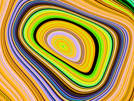 stripped: Abstract rainbow colored layer stripped spiral background Stock Photo